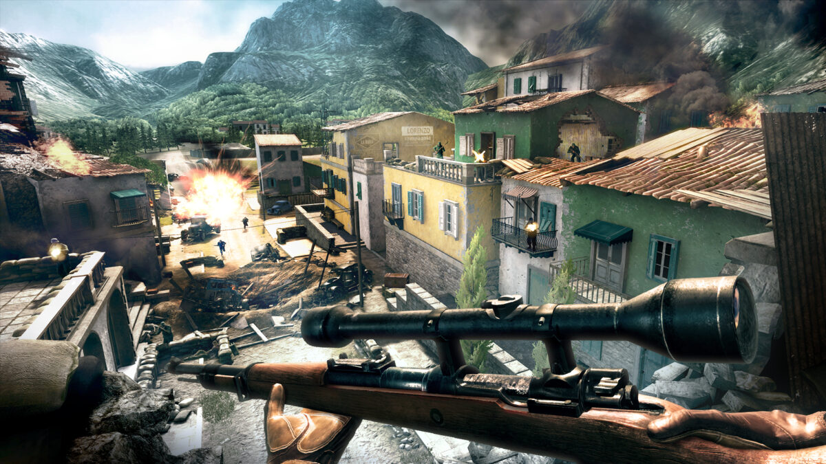An Interview with Just Add Water on Sniper Elite VR