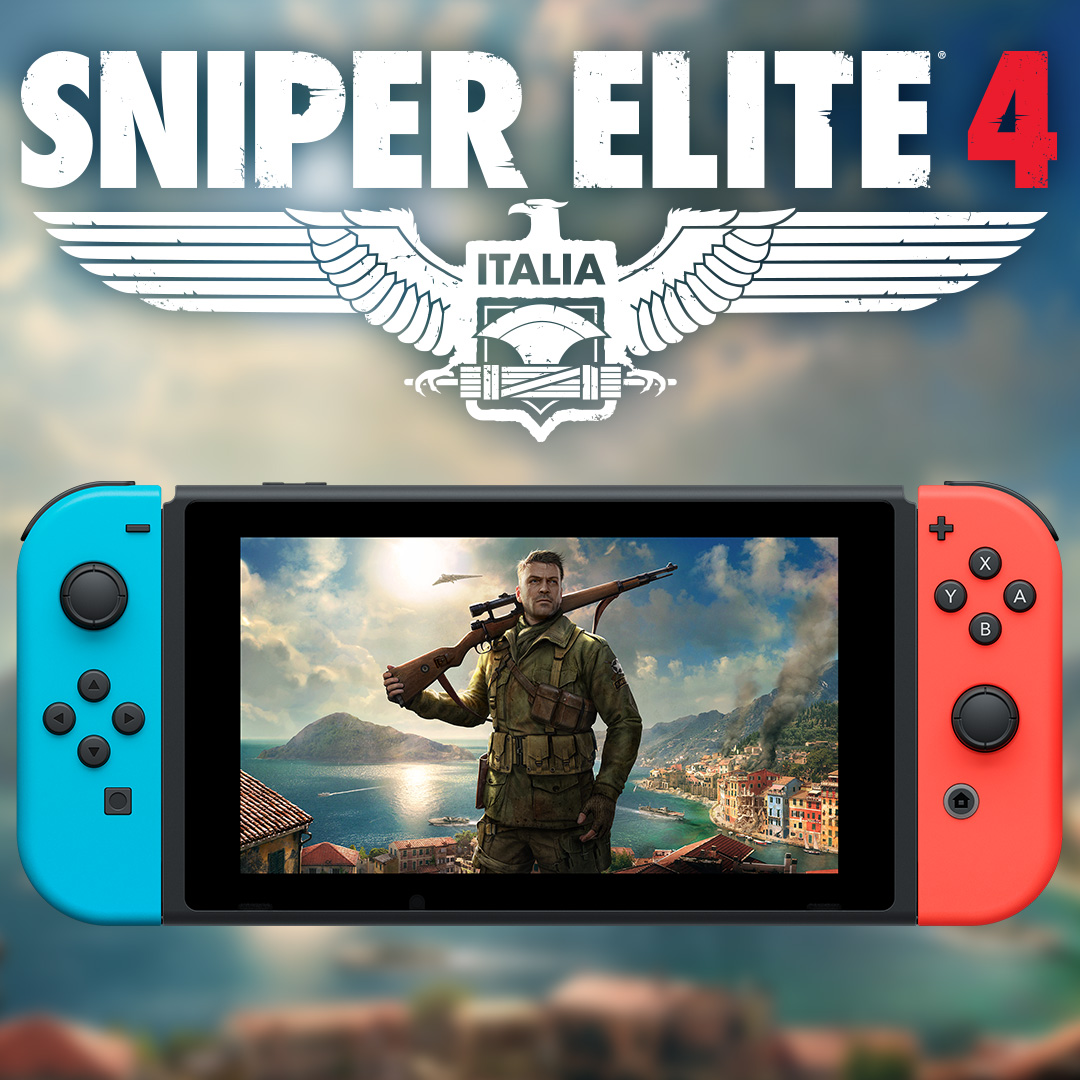 Sniper Elite 4 is coming to Nintendo Switch!