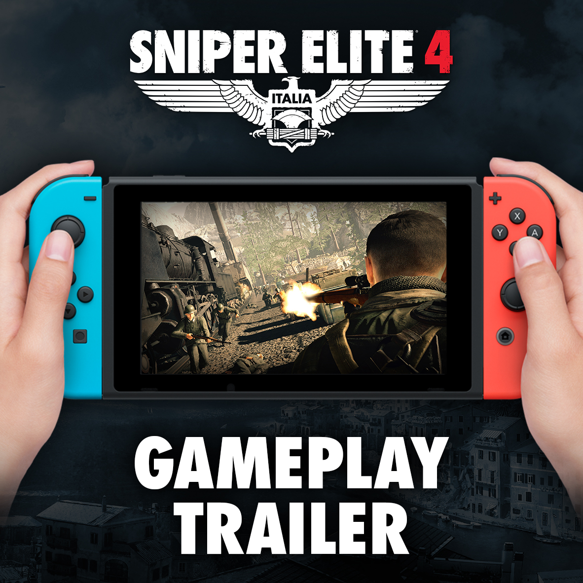 Sniper Elite 4 on Switch Gameplay Trailer