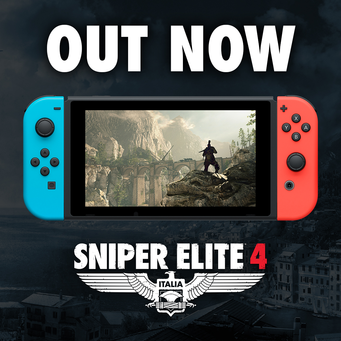Sniper Elite 4 is OUT NOW on Switch