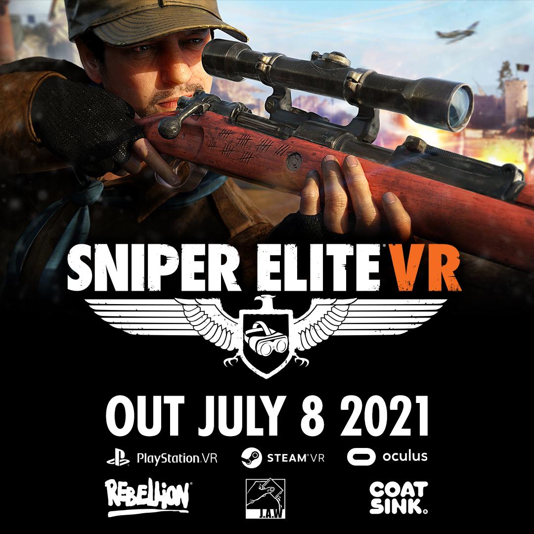 SNIPER ELITE VR SETS ITS SIGHTS ON JULY 8 2021