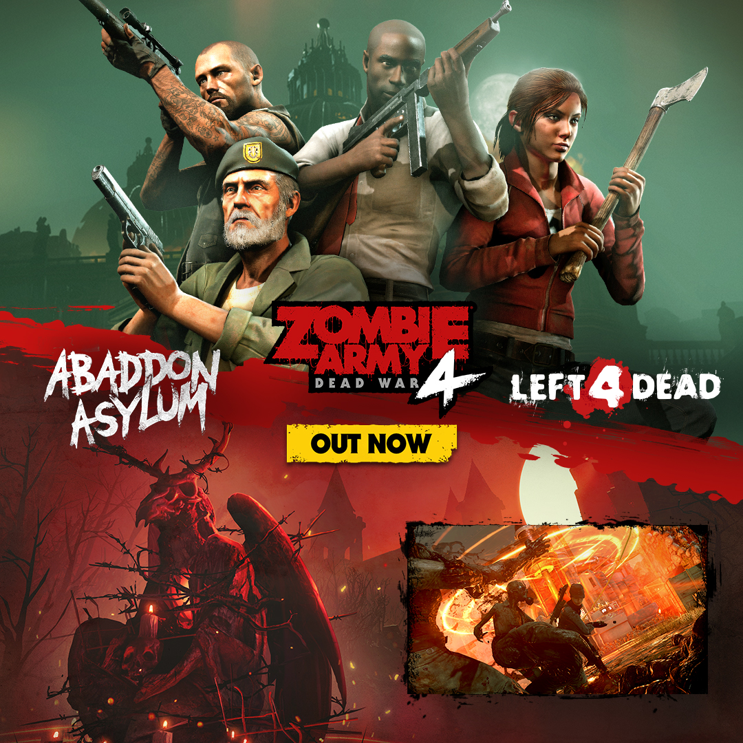 LEFT 4 DEAD CHARACTERS JOIN ZOMBIE ARMY 4