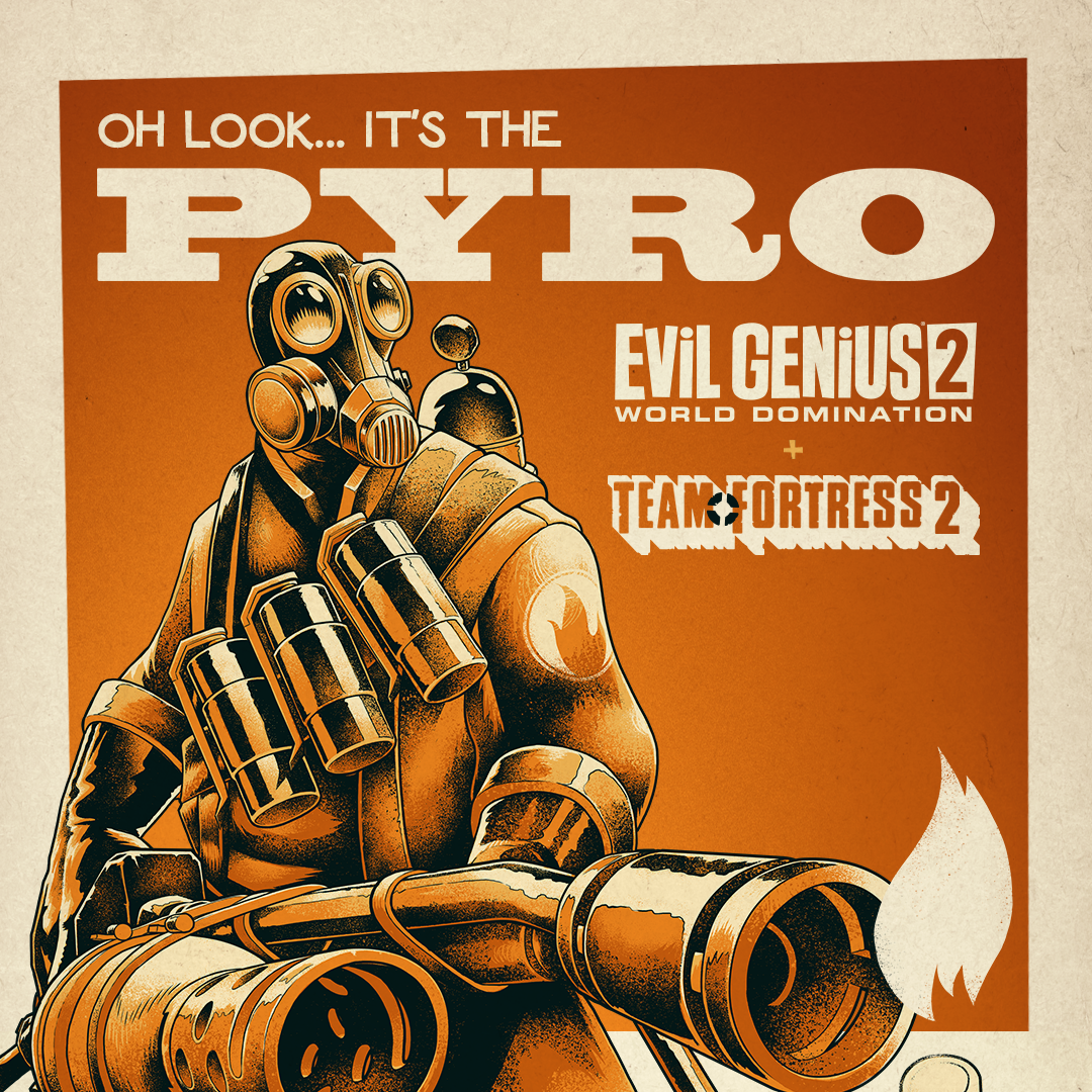 EVIL GENIUS 2 WELCOME PYRO AND DOOMHILDA TO THE FOLD