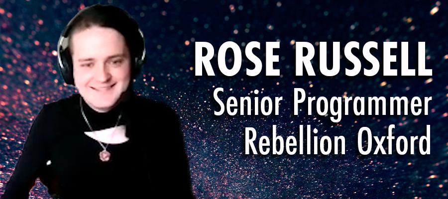 Rose Russell - Senior Programmer - Rebellion Oxford