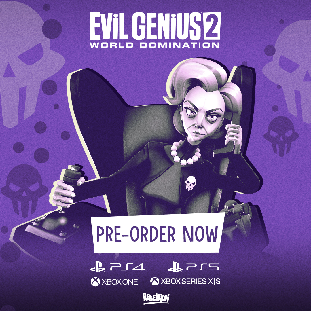 EVIL GENIUS 2: WORLD DOMINATION COMING TO CONSOLES ON NOVEMBER 30TH