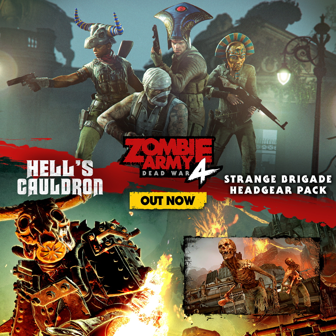 DO YOU HAVE WHAT IT TAKES TO FIGHT IN HELL'S CAULDRON IN ZOMBIE ARMY 4?